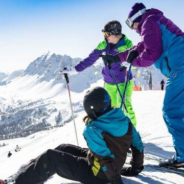 Przyjaciele na nartach
