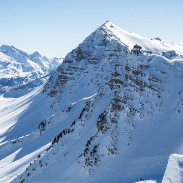 Widok Alp Nadmorskich