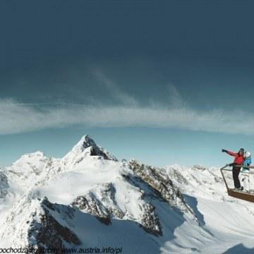 Widok ze szczytu gór