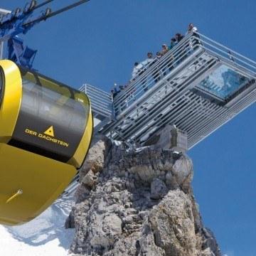 Nowoczesna kolejka narciarska