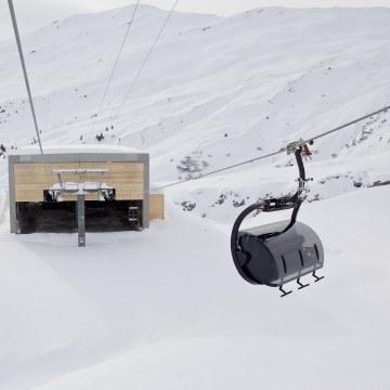 Wjazd gondolą narciarską