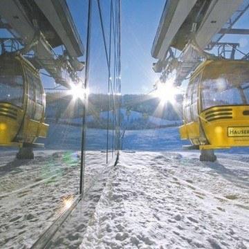 Żółte kolejki górskie