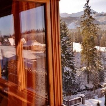 Pensjonat U Jagódki - widok z okna